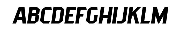 PittsbrookSans-Italic Font LOWERCASE