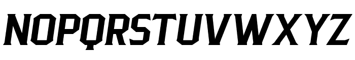 PittsbrookSerif-Italic Font UPPERCASE