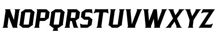 PittsbrookSerif-Italic Font LOWERCASE