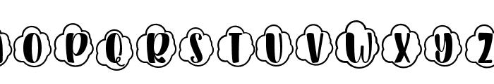 Plant Factory 10 monogram Regular Font LOWERCASE
