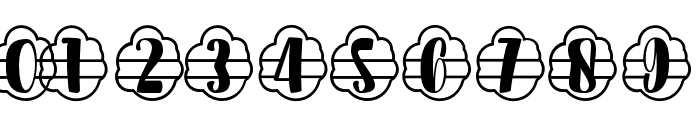 Plant Factory 11 monogram Regular Font OTHER CHARS