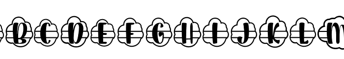 Plant Factory 11 monogram Regular Font UPPERCASE