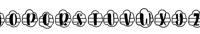 Plant Factory 11 monogram Regular Font LOWERCASE