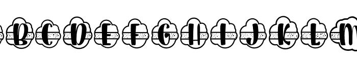 Plant Factory 12 monogram Regular Font LOWERCASE