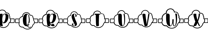 Plant Factory 13 monogram Regular Font LOWERCASE