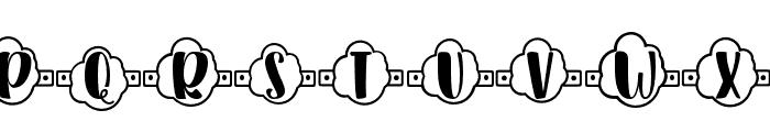 Plant Factory 14 monogram Regular Font UPPERCASE
