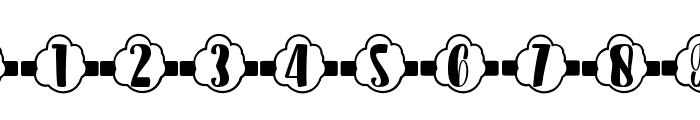 Plant Factory 15 monogram Regular Font OTHER CHARS