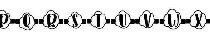 Plant Factory 15 monogram Regular Font LOWERCASE