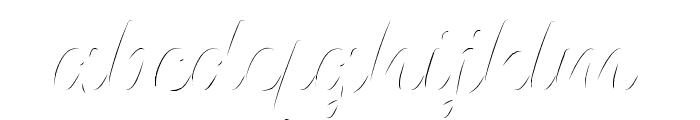 Platina Highlight Font LOWERCASE