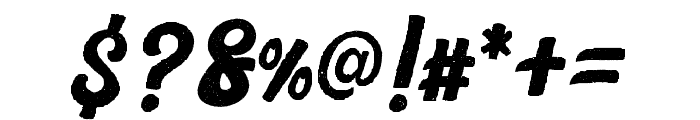 Platina Rough Font OTHER CHARS