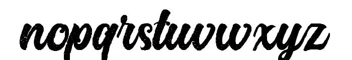Platina Rough Font LOWERCASE