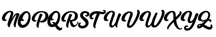 Platina Font UPPERCASE
