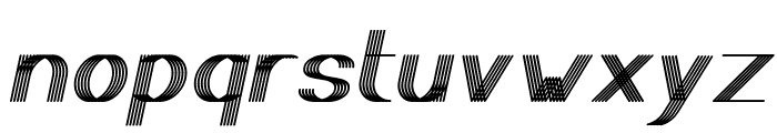 Play Ground Italic Font LOWERCASE