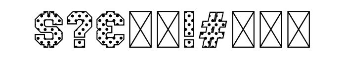 Polka Sport Font OTHER CHARS