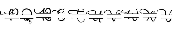 PoppyMonogram Font UPPERCASE