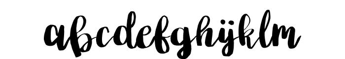 Poppy Font LOWERCASE