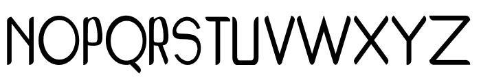 Porschey Font UPPERCASE