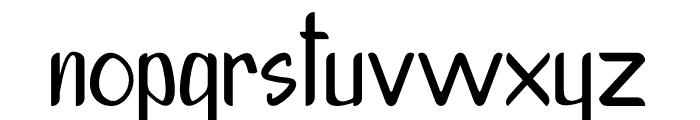 Porschey Font LOWERCASE
