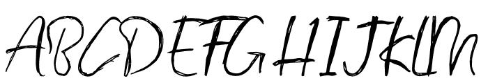 Porto Bianco Brush Font UPPERCASE