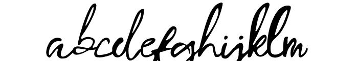 Porto Bianco Font LOWERCASE