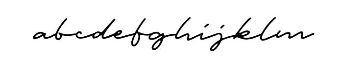 Portrait Script Regular Font LOWERCASE