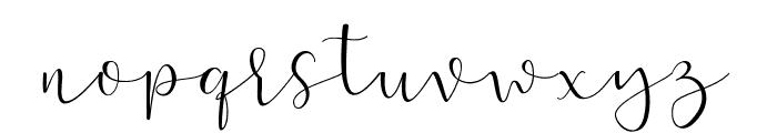 Positive-Attitude Font LOWERCASE
