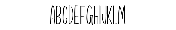 Precious Way Font UPPERCASE