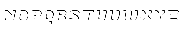 PreciousITALIC Font UPPERCASE