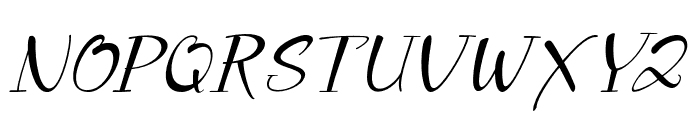 Prestige Font UPPERCASE
