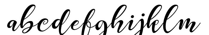 Prestige Font LOWERCASE