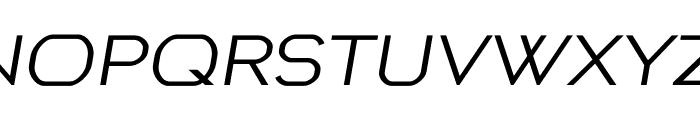 Preview regular Font UPPERCASE