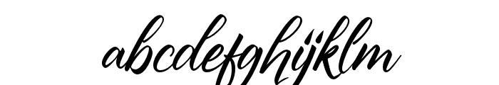 PrimeCast Font LOWERCASE