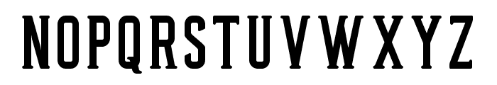 Privateer-Regular Font UPPERCASE
