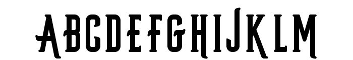 Privateer-Regular Font LOWERCASE