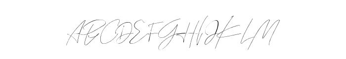 Prodigal Regular Font UPPERCASE
