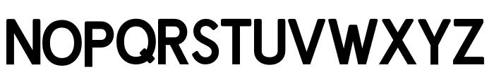 Prontera Bold Font UPPERCASE