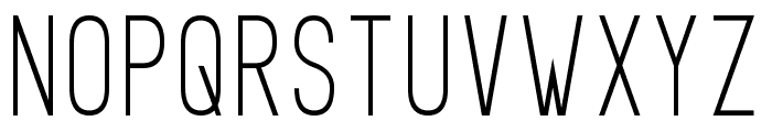 Prosciutto Sansish Font UPPERCASE