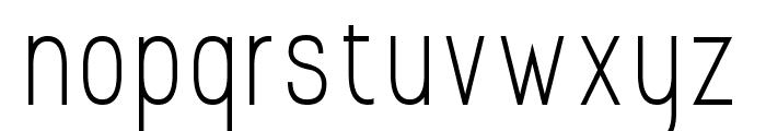 Prosciutto Sansish Font LOWERCASE