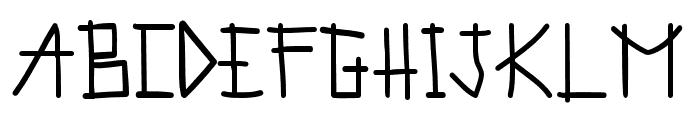 Prussian Bluessian Font UPPERCASE