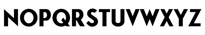 Puerto Bold Font LOWERCASE