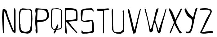 Pumpkin Font LOWERCASE