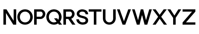 Punta Bold Flat Font UPPERCASE