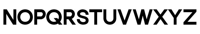 Punta Extra Bold Flat Font UPPERCASE