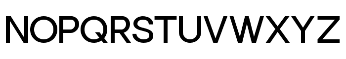 Punta Regular Flat Font UPPERCASE