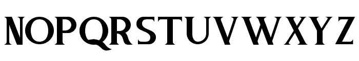 Pure Tintri SERIF Font LOWERCASE
