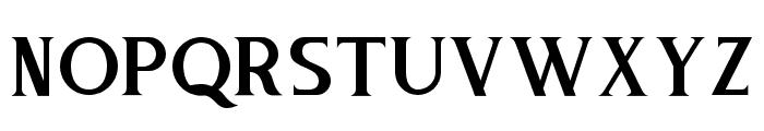 PureTintriSERIF Font UPPERCASE