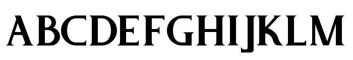 PureTintriSERIF Font LOWERCASE