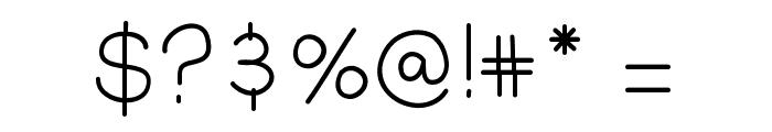 QuakesFont Font OTHER CHARS