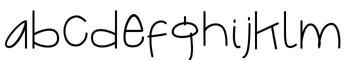 QuakesFont Font LOWERCASE