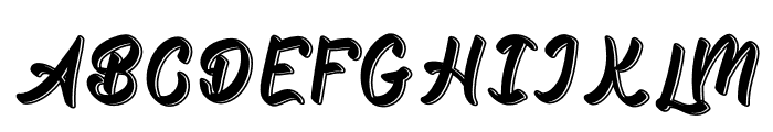 Quality Font UPPERCASE